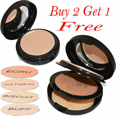 Technic Colour Fix 2 in 1 Cream Foundation & Pressed Powder Compact Shade