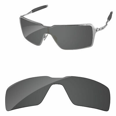 0701023dac PapaViva Black Polarized Replacement Lenses for-Oakley Probation Sunglasses