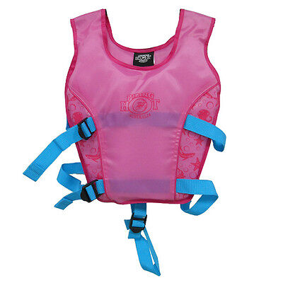 NEW Piping Hot Swim Vest - Pink Age: 3 - 4