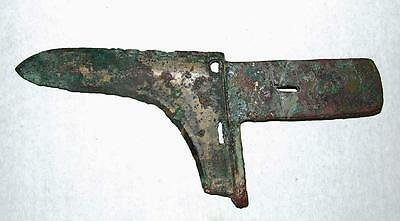 Ancient Chinese Eastern Zhou (770-476 B.C.) Bronze Ge Dagger Axe sword Blade