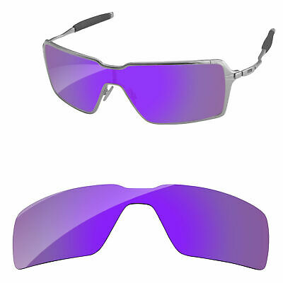 3df25f5fe5 PapaViva Plasma Purple Mirror Polarized Replacement Lenses for-Oakley  Probation