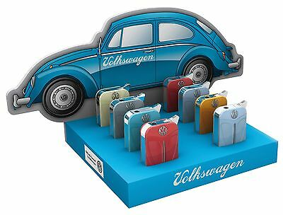 Official Volkswagen Lighters With Gift Box - Variety Of Colours - Gas Refillable