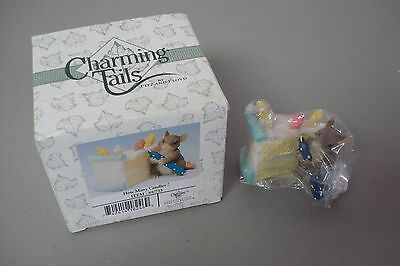 """Charming Tales By Fitz & Floyd 2.5"""" x 2"""" How Many Candles #288Z"""
