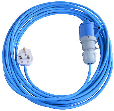 20m Extension Lead For Bouncy Castle Blowers Fans 13 AMP to 16 AMP 16A Cable