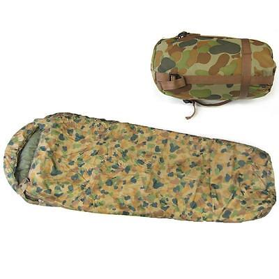 Caribee Deploy 1300 (0C) Lightweight Camo Auscam Army Sleeping Bag