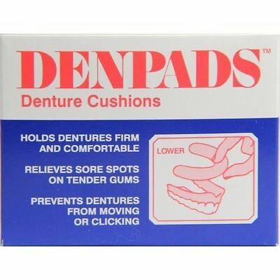~ Denpads Denture Cushion Lower