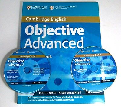 Objective Advanced Studen's Book wth answers and CD-ROM + PM 3 Cambridge English
