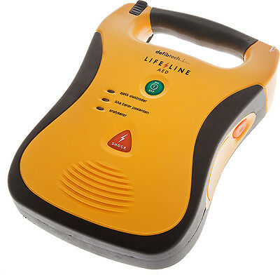 Defibtech LIFELINE AED Defibrillator + New Adults Pads & 5 YR Battery