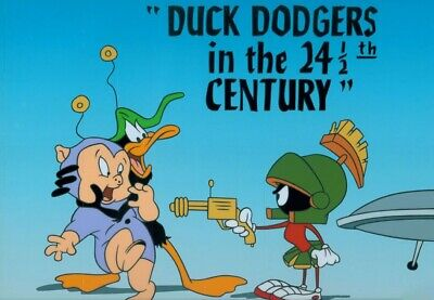 Daffy Duck Duck Dodgers and the 24 1/2 Century Warner Brothers Sericel LE 2500