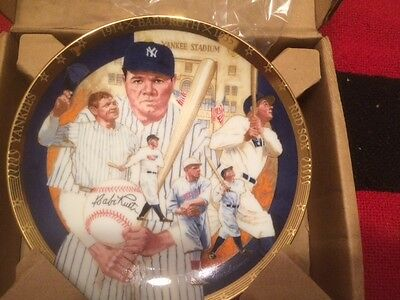 Babe Ruth The Best Of Baseball Collectors Plate