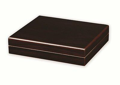 Quality Importers HUM-TR15M The Traveler Humidor, Holds 15 Cigars, Mahogany