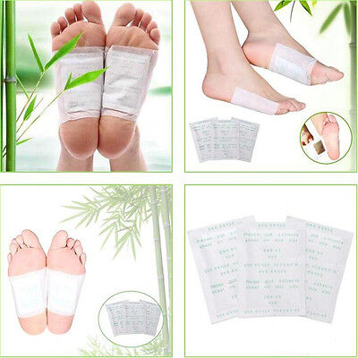10XGood Detox Foot Pads Patch Detoxify Toxins Adhesive Keeping Fit Health Care