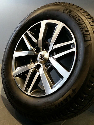 """Toyota Hilux Sr5 My16 18"""" Genuine Wheels And Tyres"""