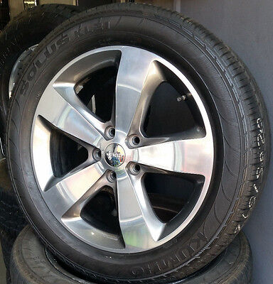 """Jeep Grand Cherokee 20"""" Genuine Wheels And Tyres"""