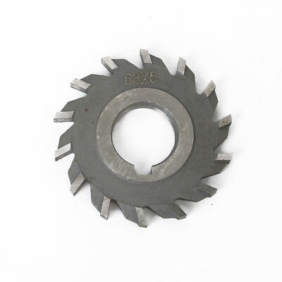 Milling Cutter National Side Face High Speed Straight Cutter 63mm x 5mm