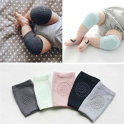 Kids Soft Anti-slip Elbow Cushion Crawling Knee Pad Infant Toddler Baby Safety l