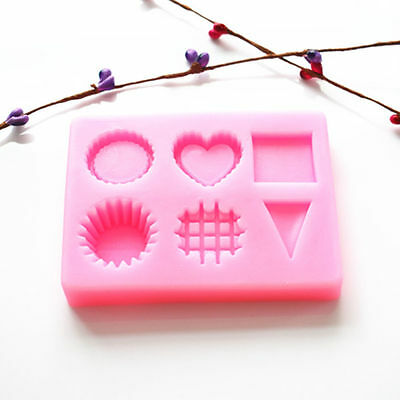 1x Creative Silicone Chocolate Cake Mold Baking Tool Kitchen Fondant Mould