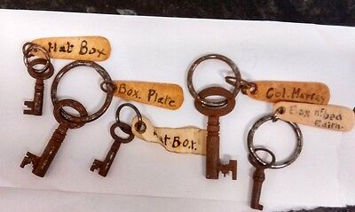 Antique Box Keys