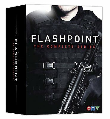 Flashpoint:The Complete Series(DVD,19-Disc Box Set,CTV)New Seasons 1 2 3 4 5 or6