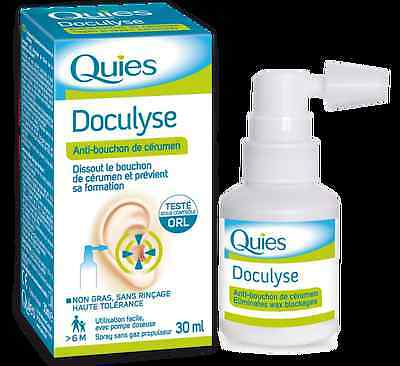 Quies Doculyse Earwax Remover No Rinsing Required 30ml (SHORT DATE 2016-11)