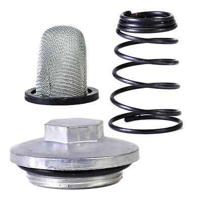 3pcs Scooter Oil Filter Drain Plug Spring for GY6 50cc 125cc 150cc Chinese Moped