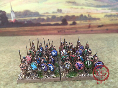 1/100 15mm Ancient DPS painted Greek Hoplite GH114