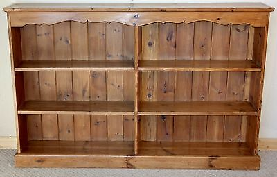 Pine Open bookcase, nationwide delivery available