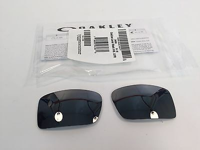 Oakley Sunglasses Gascan Black Iridium Replacement lens Authentic Hard to Find