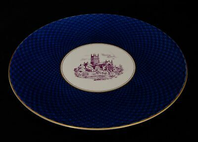 Royal Worcester Decorative Plate Depicting Worcester Cathedral