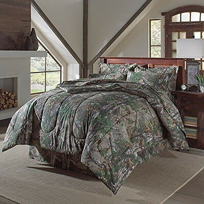 Realtree Xtra Green Camo Camouflage Comforter Queen(Sheets sold separately)