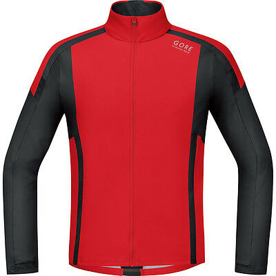 Gore Running Wear 2016 Men's Air Windstopper Soft Shell Long Sleeve Running