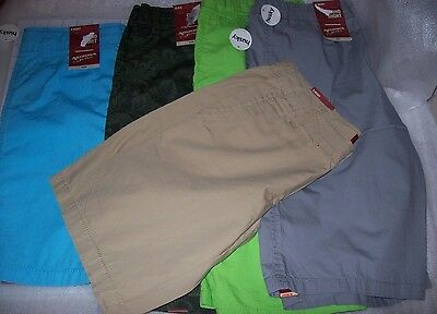 Boys Arizona Light Weight Chino Shorts Multiple Colors And Sizes New With Tags