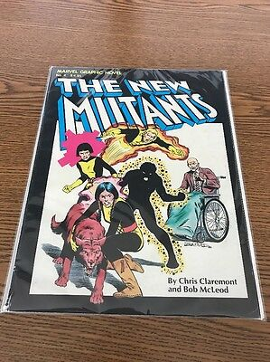 Marvel Graphic Novel 4 New Mutants - Good -