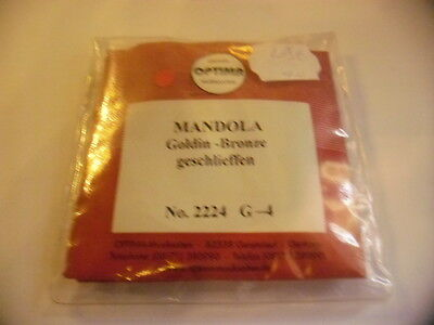 Jeu cordes/ Set strings Mandoline OPTIMA Goldin-Bronze- 4 cordes - NEW