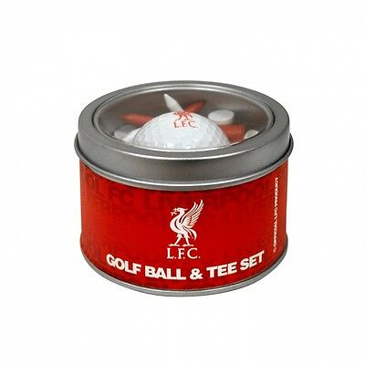 Liverpool Fc Golf Ball and Tee Gift Set. Free Shipping