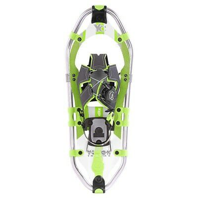Yukon Charlie's Elite Spin Snowshoes - Women's 8x25 (up to 200lbs) - Green