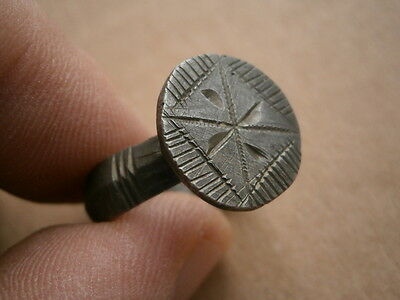 billon antique roman  ring