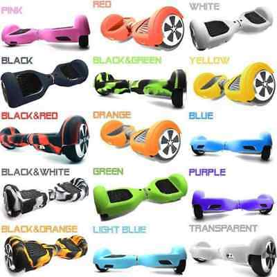"Silicone Case Cover for 6.5"" 2 Wheels Smart Self Balancing Scooter Hover Board"
