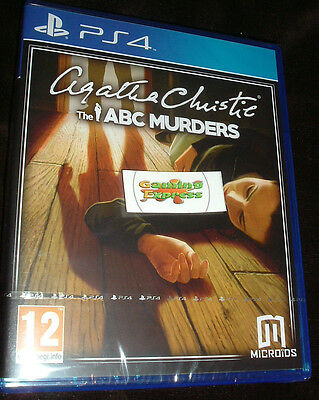 Agatha Christie The ABC Murders Playstation 4 PS4 NEW SEALED