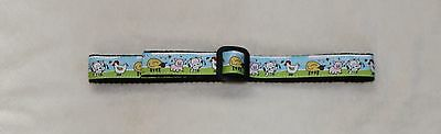 Blue Black Farm Animals Cows Toddler Adjustable Stay Put Belt 2T-3T-4T New