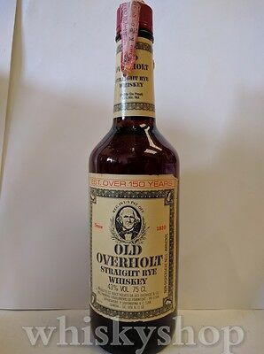 Old Overholt Straight Kentucky Ray Whiskey 75 cl 43% By Soffiantino