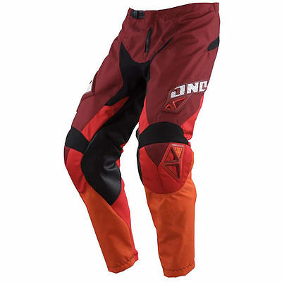 PANTALON MOTOCROSS ONE INDUSTRIES CARBON ROUGE taille 36 *NEUF*