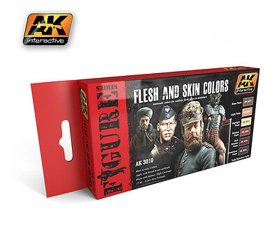 Flesh and Skin Colours AK Interactive AK-3010