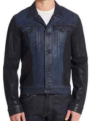 True Religion Danny Denim Moto Jacket XXL NWT $328