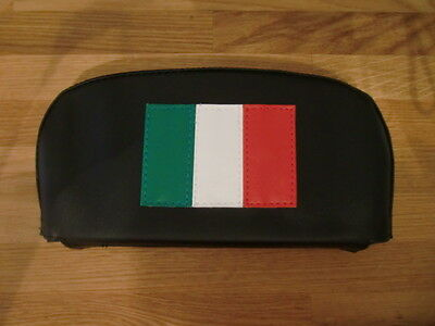Small Italian Flag Scooter Back Rest Cover (Purse Style)