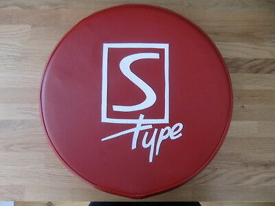 Oxblood/White S Type Scooter Wheel Cover