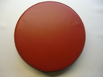 Plain Cherry Red Scooter Wheel Cover (other colours available)
