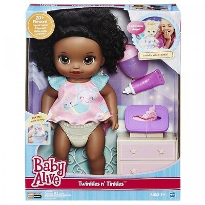 Baby Alive My Baby All Gone African American Doll Speaks