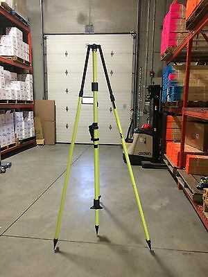 Seco Fixed-Height GPS Antenna Tripod with 2 m Center Staff  Flo Yellow (5115-00)