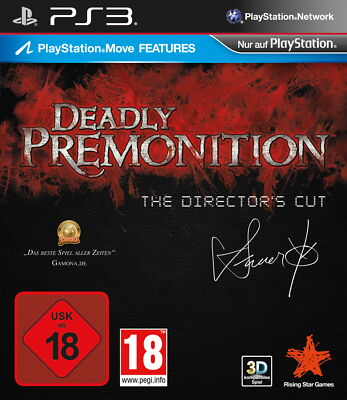 Sony PS3 Deadly Premonition: The Director's Cut PlayStation 3 Move Features Game